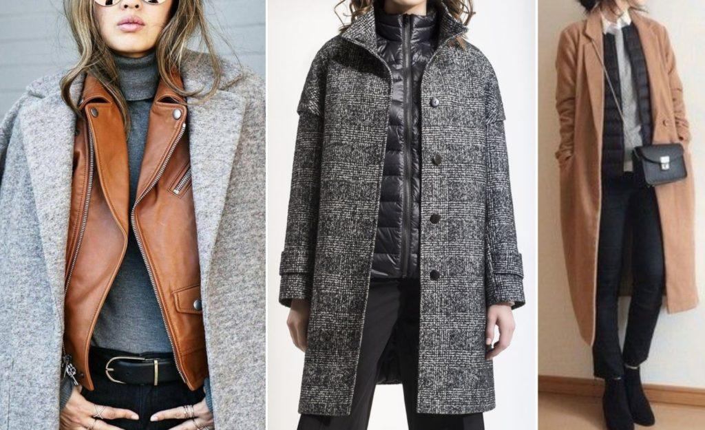 пуховик под пальто, косуха под пальто